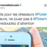 Pokémon Go arrive en France, la Gendarmerie met en garde