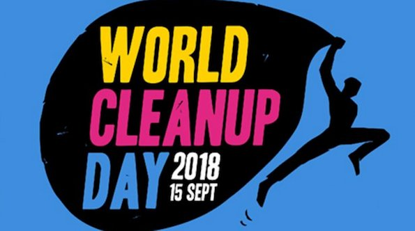 Visuel du World Cleanup Day